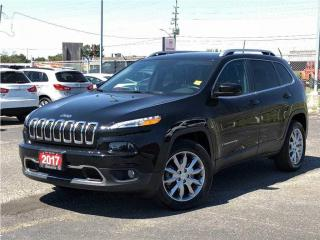 Used 2017 Jeep Cherokee Limited**4X4**Leather**Sunroof**NAV**Back UP CAM** for sale in Mississauga, ON
