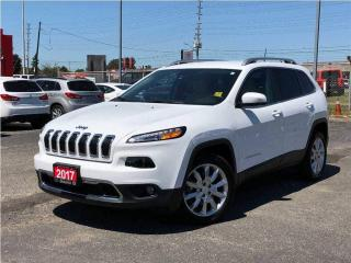 Used 2017 Jeep Cherokee Limited**Leather**Navigation**Only 12, 671 KM** for sale in Mississauga, ON