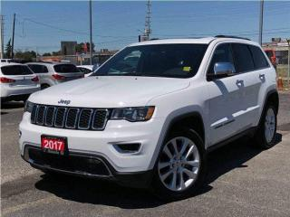 Used 2017 Jeep Grand Cherokee Limited**Leather**Sunroof**NAV**Back UP CAM** for sale in Mississauga, ON