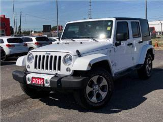 Used 2016 Jeep Wrangler Unlimited Sahara**4X4**Bluetooth**Navigation**Heated Seats** for sale in Mississauga, ON