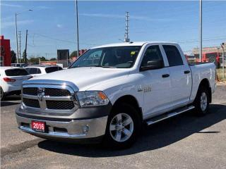 Used 2016 RAM 1500 SXT**Crew CAB**Bluetooth**Trailer Brake Control** for sale in Mississauga, ON