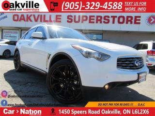 Used 2011 Infiniti FX50 S | LEATHER | NAVI | 360 CAMERA | PANO ROOF for sale in Oakville, ON