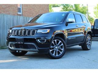 Used 2018 Jeep Grand Cherokee Limited Luxury Ed.*Adaptive Cruise*Pano Roof*Apple for sale in Mississauga, ON
