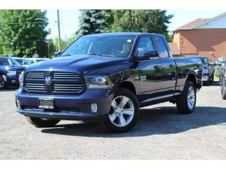 Used 2013 RAM 1500 Sport*NAV*Liner*Bluetooth*Rem-Start*CLEAN for sale in Mississauga, ON