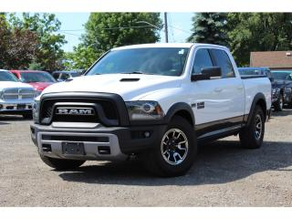 Used 2016 RAM 1500 Rebel*NAV*Air Suspension*$1200 Hard Bed Cover*SO C for sale in Mississauga, ON