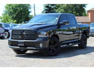 Used 2016 RAM 1500 Sport*Blackout Package*Spray Liner*Sport Hood*Came for sale in Mississauga, ON