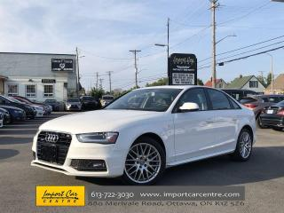 Used 2015 Audi A4 2.0T Komfort plus S-LINE  SUNROOF  LEATHER for sale in Ottawa, ON