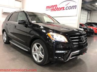 Used 2015 Mercedes-Benz ML-Class ML350 BlueTEC 4MATIC AMG LOADED for sale in St. George Brant, ON