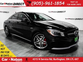 Used 2015 Mercedes-Benz CLA-Class CLA45 AMG 4MATIC| NAVI| PANO ROOF| for sale in Burlington, ON