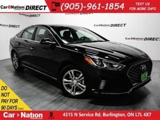 Used 2018 Hyundai Sonata 2.4 Sport| LEATHER-TRIMMED SEATS| SUNROOF| for sale in Burlington, ON