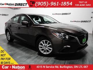 Used 2015 Mazda MAZDA3 GS| BACK UP CAMERA| HEATED SEATS| PUSH START| for sale in Burlington, ON