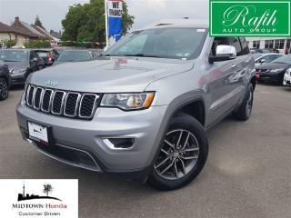 Used 2017 Jeep Grand Cherokee Limited-Push start-sunroof-leather for sale in North York, ON