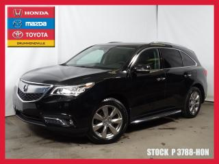 Used 2016 Acura MDX Elite Pack+dvd+gps+7 for sale in Drummondville, QC