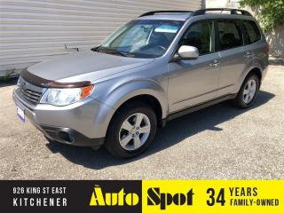 Used 2009 Subaru Forester X w/Premium Pkg/LOW,LOW KMS/PRICED - QUICK SALE! for sale in Kitchener, ON