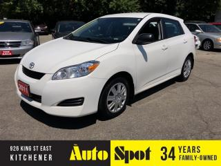 Used 2011 Toyota Matrix PRICED FOR A QUICK SALE! for sale in Kitchener, ON