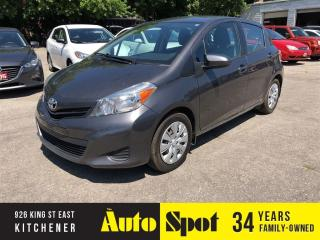 Used 2014 Toyota Yaris LE /PRICED FOR A QUICK SALE ! for sale in Kitchener, ON