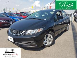 Used 2014 Honda Civic LX-super clean-one owner for sale in North York, ON