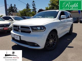 Used 2017 Dodge Durango R/T-Navigation-leather-sunroof for sale in North York, ON