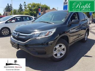 Used 2015 Honda CR-V LX-Super clean-local trade for sale in North York, ON