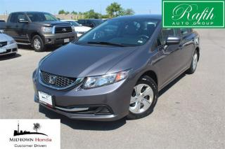 Used 2014 Honda Civic LX-Super clean-Super low mileage for sale in North York, ON