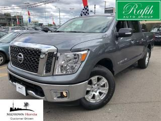 Used 2018 Nissan Titan Crew Cab SV 4X4-Like new!! for sale in North York, ON