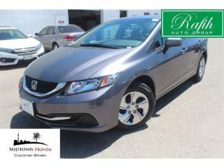 Used 2015 Honda Civic LX-very low mileage!! very clean for sale in North York, ON