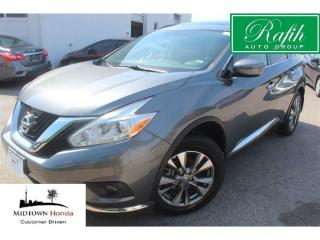 Used 2017 Nissan Murano SV AWD-Navigation-Rear camera for sale in North York, ON