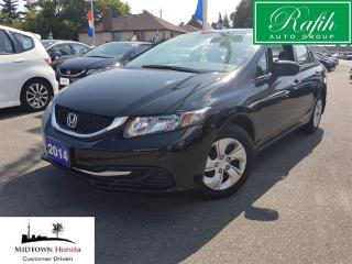 Used 2014 Honda Civic LX-Very clean-Low mileage for sale in North York, ON