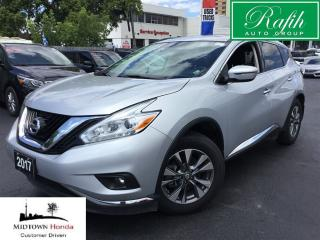 Used 2017 Nissan Murano SV-AWD-Navigation-Sunroof-Rear camera for sale in North York, ON