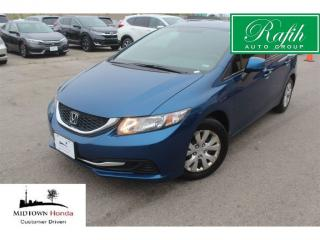 Used 2013 Honda Civic LX-Bluetooth-very well maintained!! for sale in North York, ON