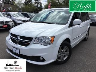 Used 2016 Dodge Grand Caravan Crew-Super clean-Certified for sale in North York, ON