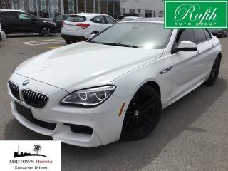 Used 2016 BMW 6 Series Xdrive Gran Coupe-Turbo 3.0L for sale in North York, ON