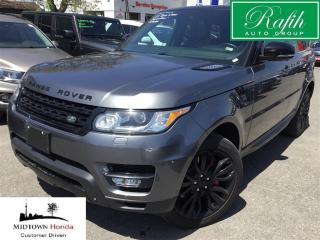 Used 2014 Land Rover Range Rover Sport V8-Supercharged-DVD-Self parking for sale in North York, ON