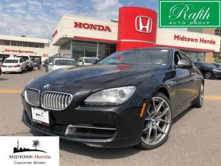 Used 2013 BMW 650i Gran Coupe Xdrive Gran Coupe-Pristine condition for sale in North York, ON
