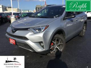 Used 2017 Toyota RAV4 AWD SE-Navigation-Sunroof for sale in North York, ON