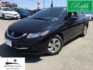 Used 2014 Honda Civic LX-Local trade-Super clean for sale in North York, ON