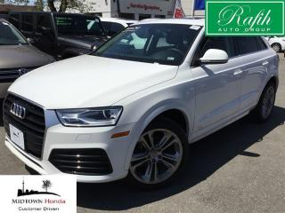 Used 2018 Audi Q3 2.0T Progressiv quattro 6sp Tiptronic for sale in North York, ON