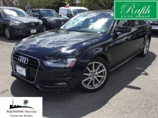 Used 2016 Audi A4 2.0T -S Line-Progressiv Plus Qtro 8sp Tip for sale in North York, ON