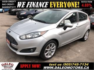 Used 2014 Ford Fiesta SE  SUNROOF   HEATED SEATS   TEST DRIVE TODAY for sale in Hamilton, ON