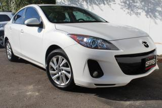 Used 2013 Mazda MAZDA3 GS-SKY Leather heated  Sunroof Fog lights Pwr seat for sale in Mississauga, ON