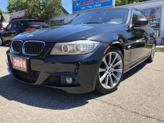 Used 2011 BMW 3 Series 4dr Sdn 335d RWD with M PKG Low payments high horsepower for sale in Brampton, ON