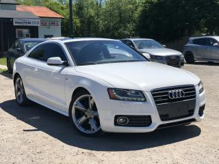 Used 2010 Audi A5 2.0 T S-Line Quattro AWD Leather Sunroof for sale in Newmarket, ON