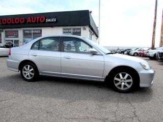 Used 2005 Acura EL 1.7L Touring SUNROOF ALLOYS CERTIFIED 2YR WARRANTY for sale in Milton, ON