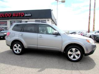 Used 2009 Subaru Forester 2.5XT Limited PANORAMIC SUNROOF CERTIFIED 2YR WARRANTY for sale in Milton, ON