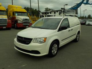 Used 2012 Dodge Caravan Cargo Van with Ladder Rack and Rear Shelving for sale in Burnaby, BC