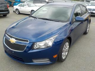 Used 2012 Chevrolet Cruze 1LT for sale in Burnaby, BC