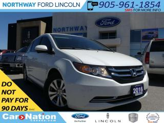 Used 2016 Honda Odyssey EX-L w/Navi | POWER SLIDING DOORS | HEATED SEATS | for sale in Brantford, ON