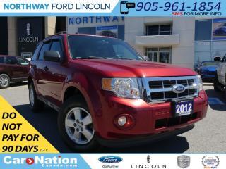 Used 2012 Ford Escape XLT | V6 | LOW KM | SAT RADIO | for sale in Brantford, ON