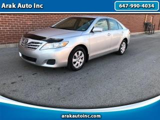 Used 2010 Toyota Camry LE 6-Spd AT for sale in Mississauga, ON