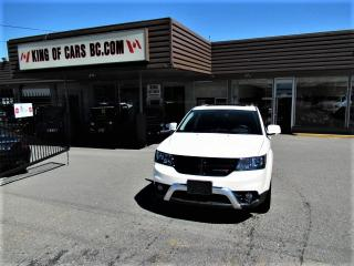 Used 2017 Dodge Journey Crossroad - 7 Passenger for sale in Langley, BC